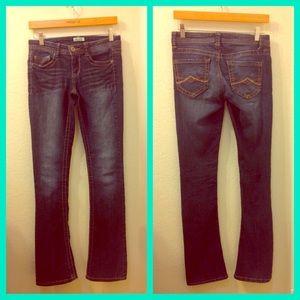 MUDD Jeans Dark Wash Boot Cut Jeans
